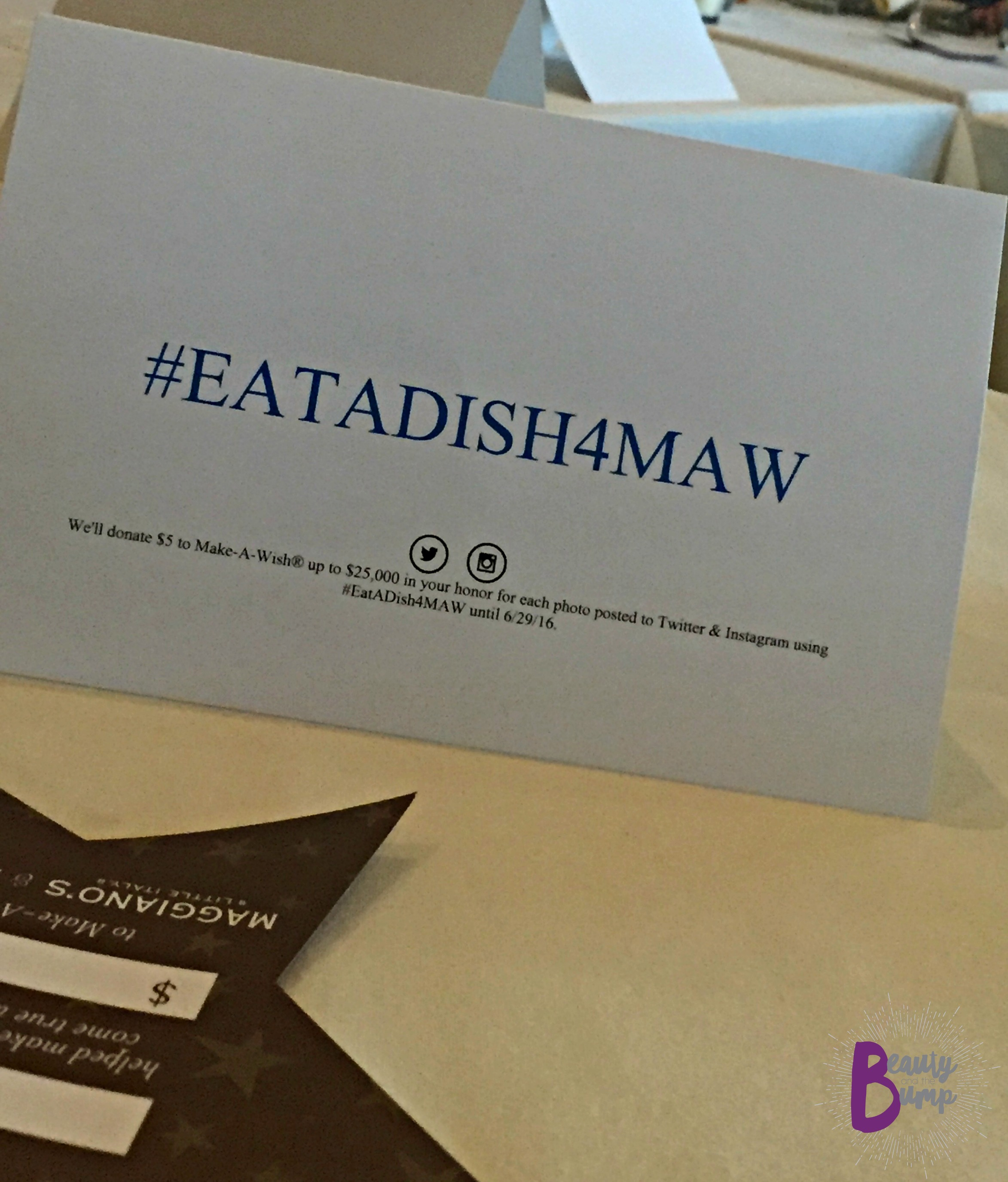 EAT a Dish for Make A Wish