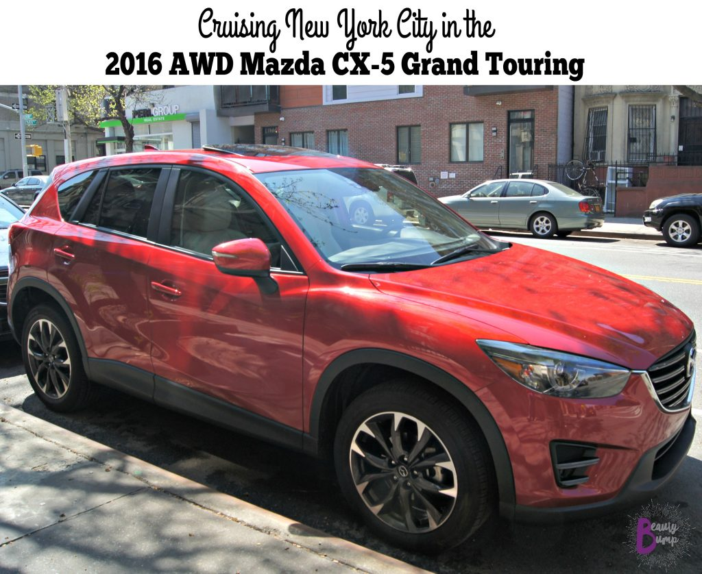 cruising new york city in the 2016 mazda cx 5 grand touring awd. Black Bedroom Furniture Sets. Home Design Ideas