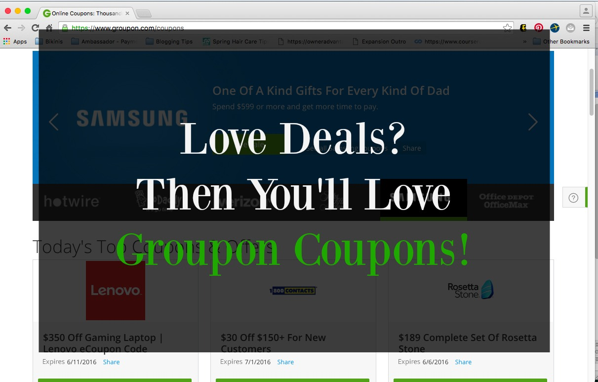 Groupon shop deals and coupons