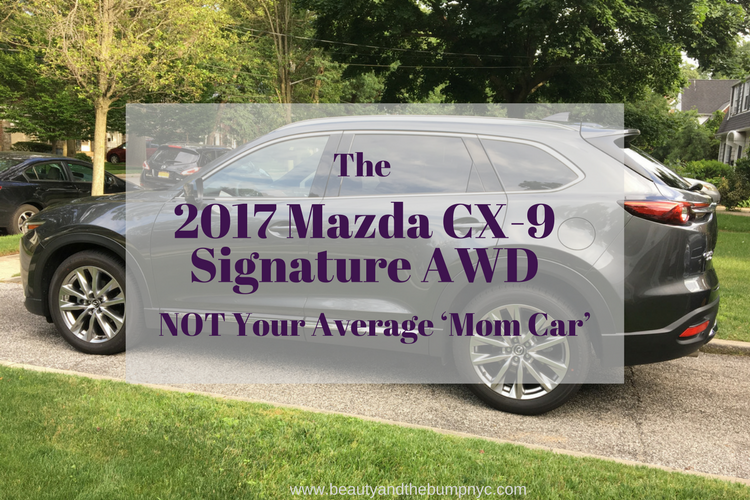 the 2017 mazda cx 9 signature awd is not your average mom. Black Bedroom Furniture Sets. Home Design Ideas