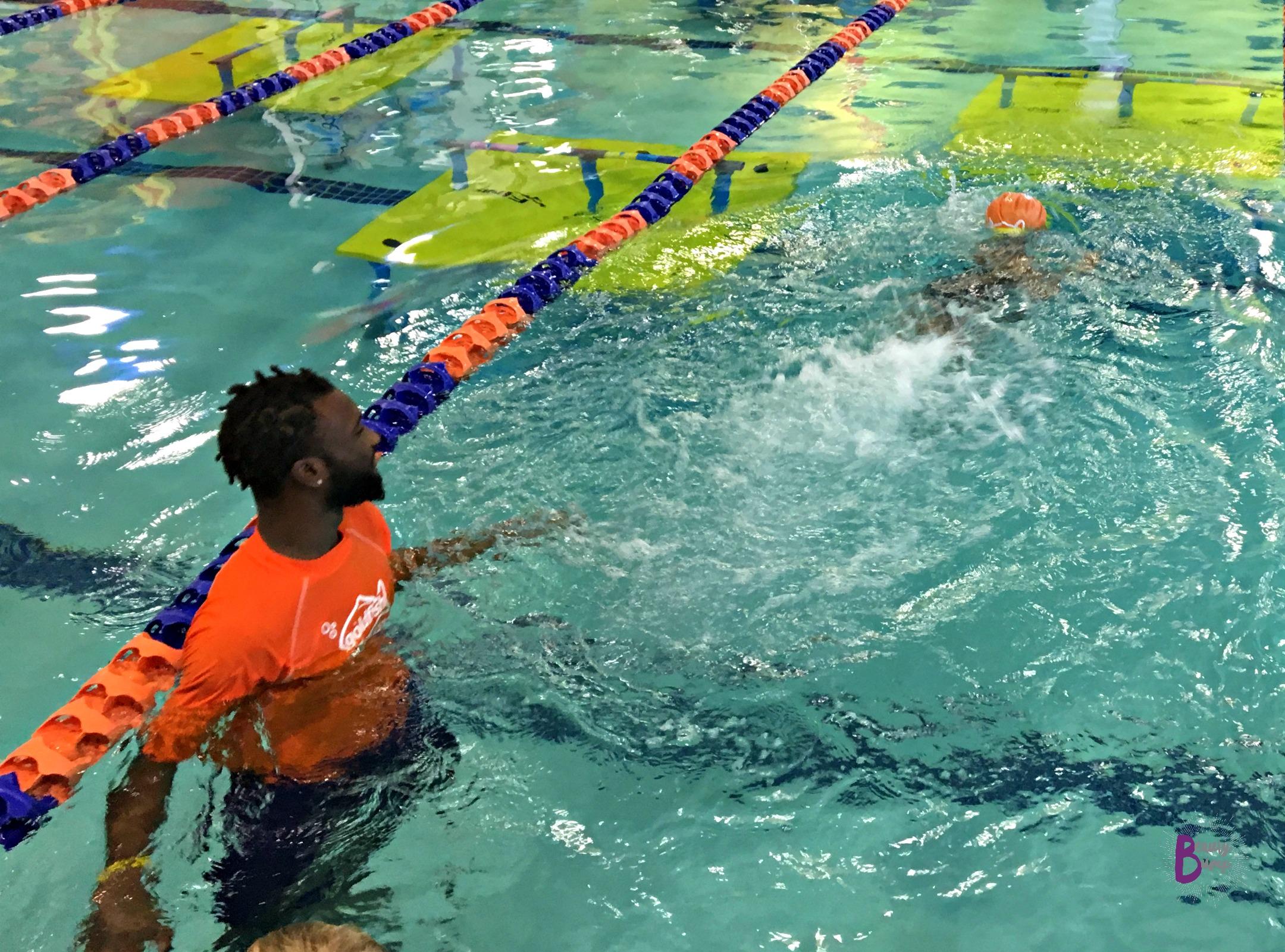 Goldfish Swim School Confident Swimmer Independent